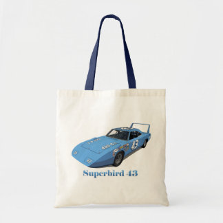 Superbird 43 tote bags