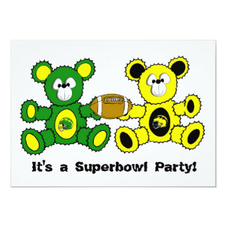 Superbowl Bears - It's a Superbowl Party! Card