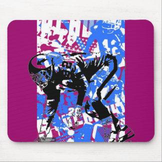 SuperBowl Graffiti mousepad