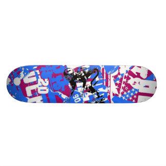 SuperBowl Graffiti skateboard