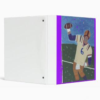 Superbowls Fantasy World-Sports Scrapbook! 3 Ring Binder