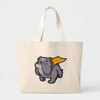 Superbullie (by Bulldog Haven NW) Tote Bags