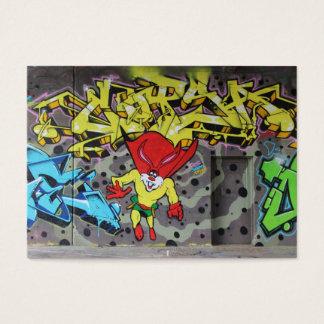 Superbunny Graffiti Business Card