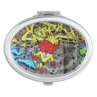 Superbunny Graffiti Compact Mirror