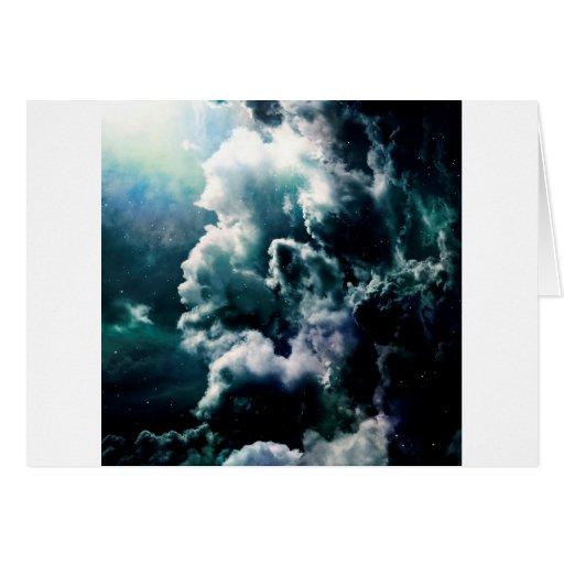 Supercell de la tormenta tarjeta de felicitación