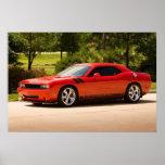 Supercharged Dodge Challenger Print