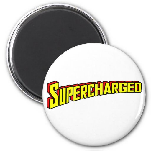 Supercharged Refrigerator Magnets