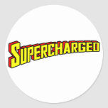 Supercharged Stickers