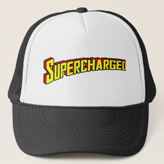 Supercharged Trucker Hat