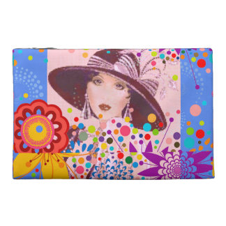 SUPERCHIC - VINTAGE FLAPPER DOLL TRAVEL ACCESSORY BAG