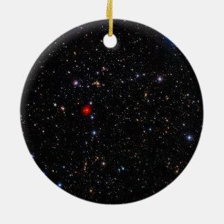 Supercluster profundo Abell de la galaxia de la Ornamentos De Reyes