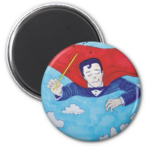 Superconductor cartoon magnets