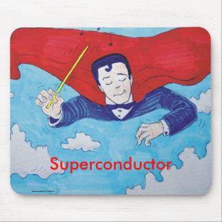 Superconductor cartoon mousepad