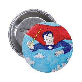 Superconductor cartoon pin