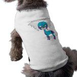 SuperCresteds - capitán Crestie - camiseta del mas Camisa De Perrito