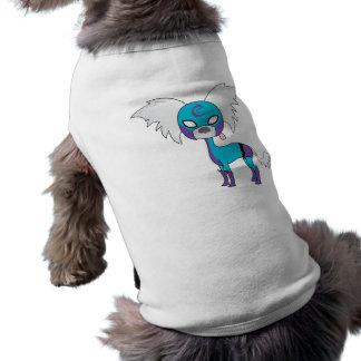SuperCresteds - capitán Crestie - camiseta del Playera Sin Mangas Para Perro