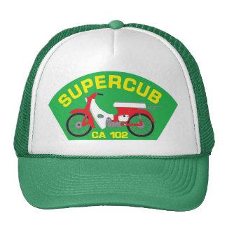 SuperCub Green Patch Hat