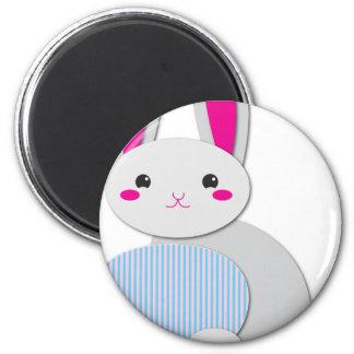 supercute easter bunny magnet
