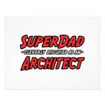 SuperDad...Architect Invites