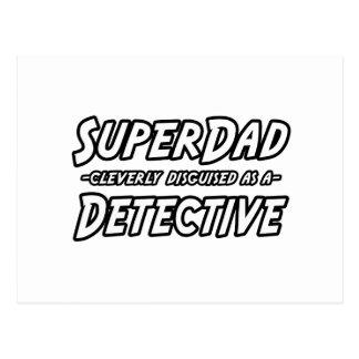 SuperDad...Detective Postcard