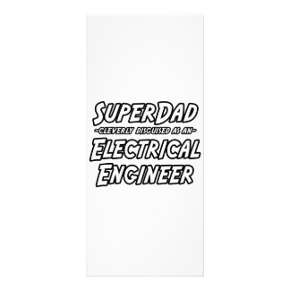 SuperDad...Electrical Engineer Personalized Rack Card