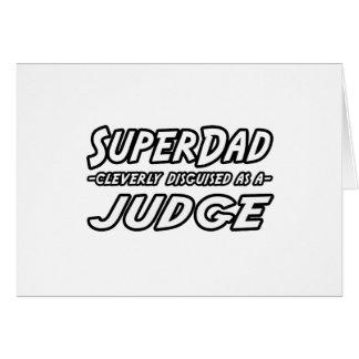 SuperDad...Judge Card