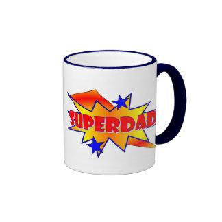 Superdad Ringer Coffee Mug