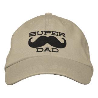 Superdad Mustache SUPER DAD Cap