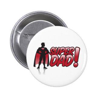 superdad pinback button