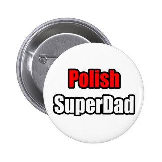 SuperDad polaco Pin