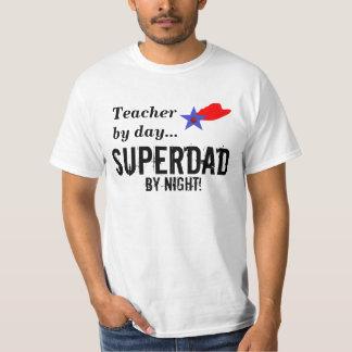 Superdad Teacher T-Shirt