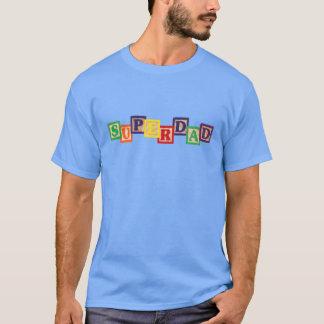 SUPERDAD Vintage Wooden Blocks Carolina Blue Shirt