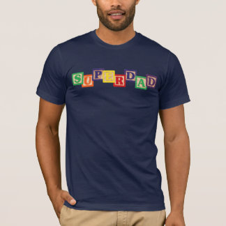 SUPERDAD Vintage Wooden Blocks Shirt