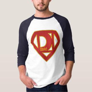 SuperDavid - 3/4 Sleeve Shirt