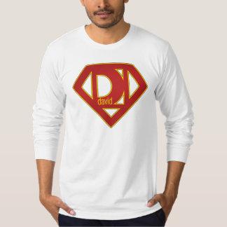 SuperDavid - Long Sleeved T-Shirt