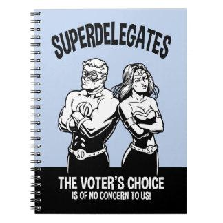 ¡Superdelegates! Libreta
