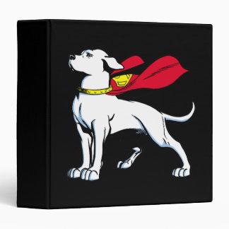 Superdog Krypto 3 Ring Binder