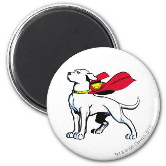 Superdog Krypto Imán Redondo 5 Cm