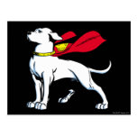 Superdog Krypto Post Card