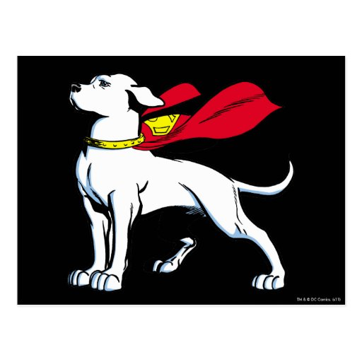 Superdog Krypto Postales