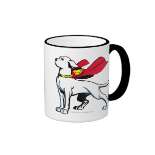 Superdog Krypto Ringer Coffee Mug