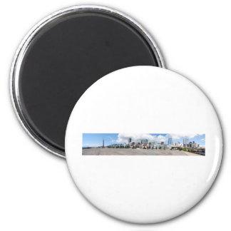 SuperDowntownPanorama2 Fridge Magnets