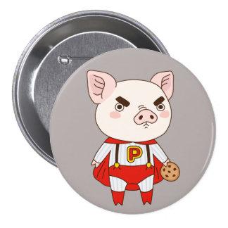 Superduper Piggy 3 Inch Round Button