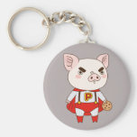 Superduper Piggy Keychain