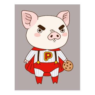 Superduper Piggy Postcard
