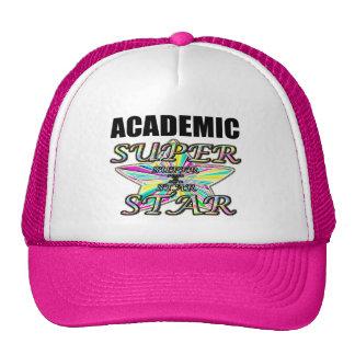 Superestrella académica gorras de camionero