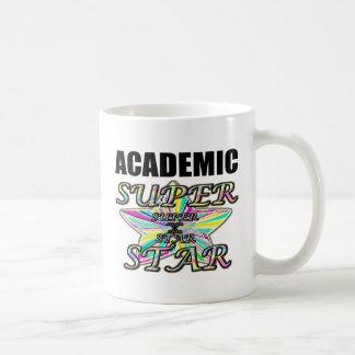 Superestrella académica taza