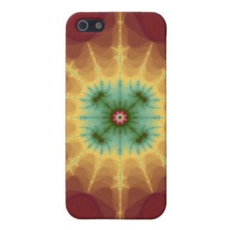 Superestrella - arte del fractal iPhone 5 funda
