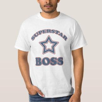 Superestrella Boss Playeras