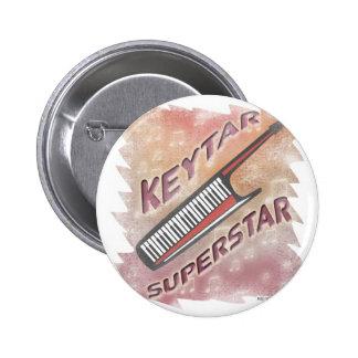 Superestrella de Keytar Pin